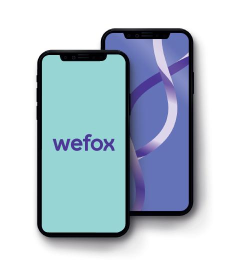 wefox am Smartphone